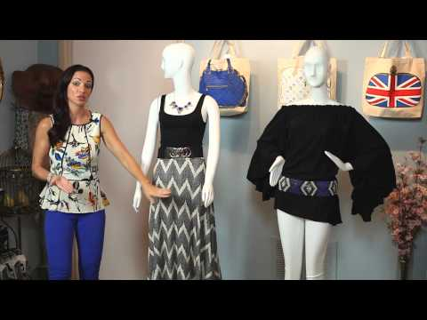 How To Combine Women's Clothes : Fashion For All video