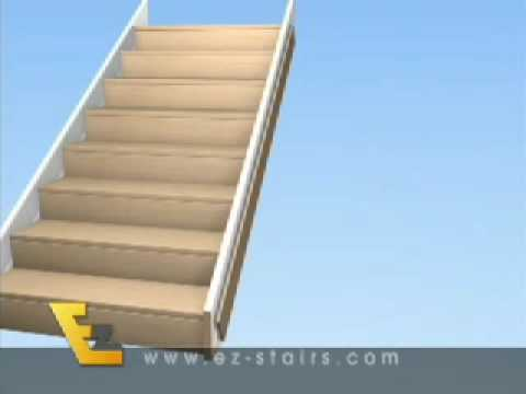 How to build Stairs That Are Easy to Install Yourself with the EZ Stairs Video