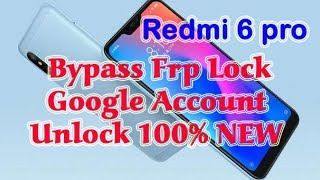 How to remove Redmi Note 6 pro FRP without pc