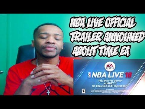 NBA LIVE 18 DEMO OFFICIAL TRAILER