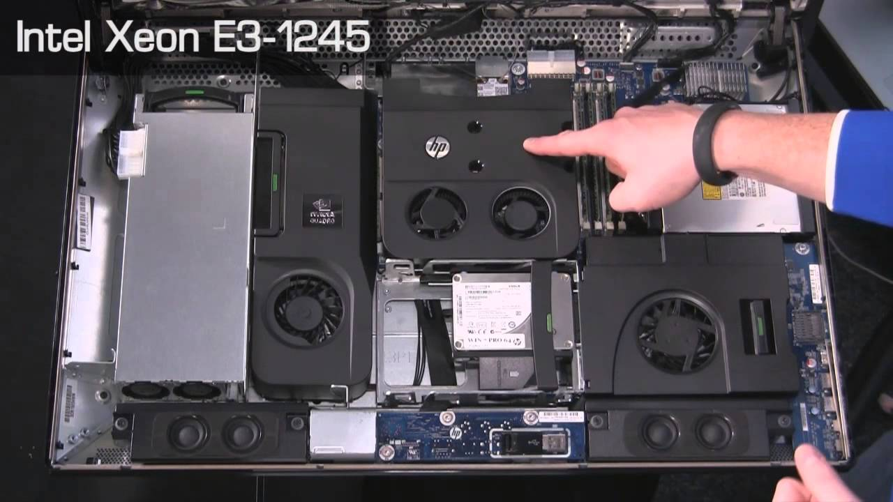 HP Z1 Workstation 27-in All-in-One Review - YouTube