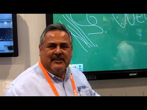 DSE 2015: Seeyoo Shows Interactive Smart Writing Board With Windows 8 or Any Windows OS