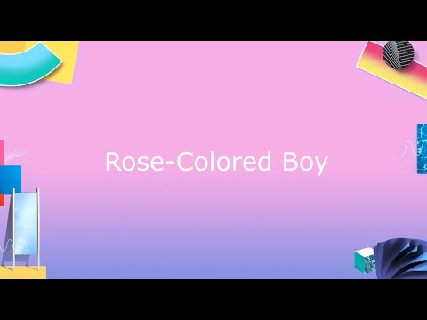 Paramore: Rose-Colored Boy [OFFICIAL VIDEO]