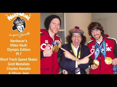 Nardwuar vs. Charles Hamelin & Olivier Jean : Olympic Speed Skaters