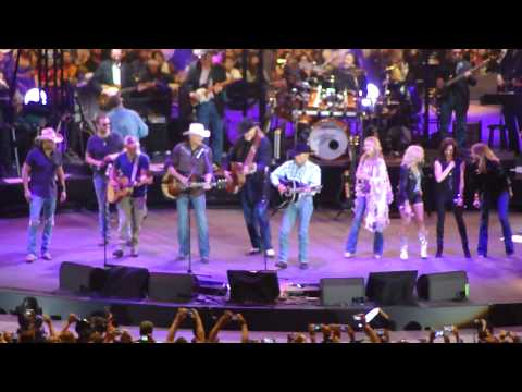 "George Strait ""All My Ex's Live in Texas"" final concert - Arlington, Texas"
