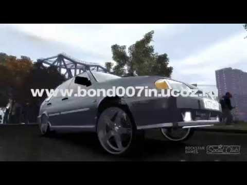 GTA 4 Car mod ВАЗ 2114 vs NFS cops
