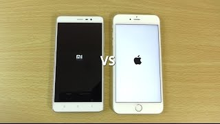 Redmi Note 3 VS iPhone 6S Plus - Speed & Camera Test!