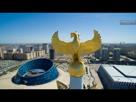 NEWSCOPTER  - Астана.  Парад Победы 2015