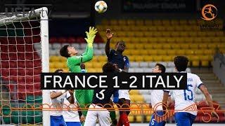 #U17 Semi-final highlights: France 1-2 Italy