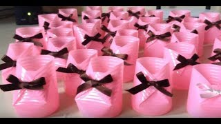 ★ HOW TO MAKE DISCOVERY CUP SHOES FOR BABY SHOWER - Arts, gifts - Hellen Chagas ♥