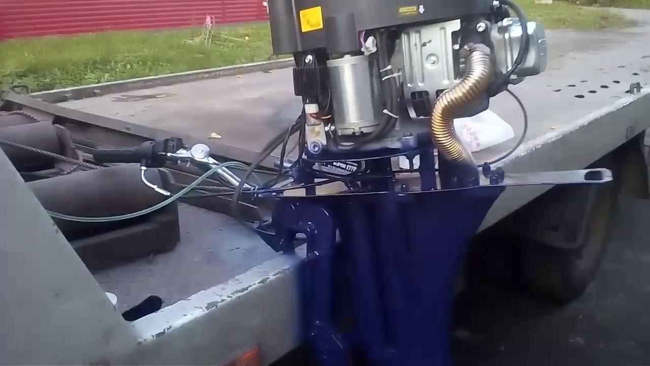 Сапог для лодочного мотора своими руками
