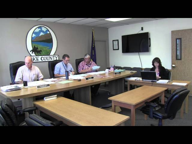 Lake County Commissioners meeting 9-16-2014 Pt. 2
