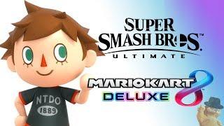 Super Smash Bros Ultimate + Mario Kart 8 Deluxe [PLAY ALONG!]