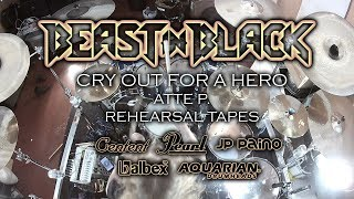 BEAST IN BLACK - Cry Out For A Hero (drum playthrough)