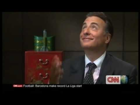 Andy Garcia INTERVIEW on CNN talkasia 2/2