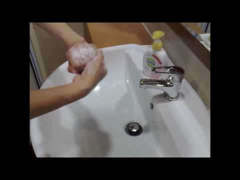 hand washing technique