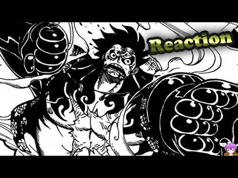 Omfg Reaction - One Piece Chapter 784 - The Hype Of Gear 4th = Nightmare Luffy ワンピース video