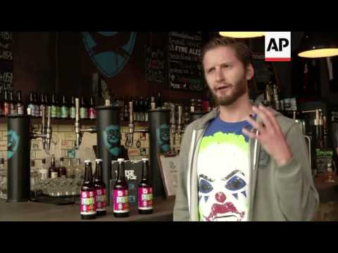 UK micro brewery marketing campaign criticises Putin and law banning gay 'propaganda'