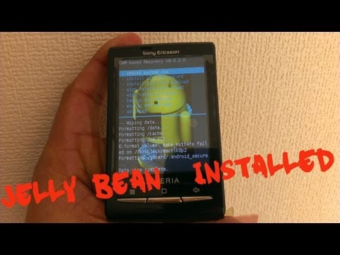 Xperia X10 Mini ROOT+INSTALL JELLYBEAN TUTORIAL
