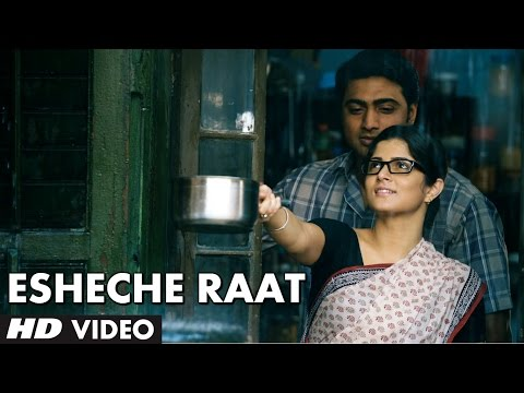 Esheche Raat Song Video | Papon Shreya Ghoshal | Buno Haansh...