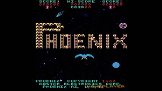 Phoenix 1980 Amstar Mame Retro Arcade Games