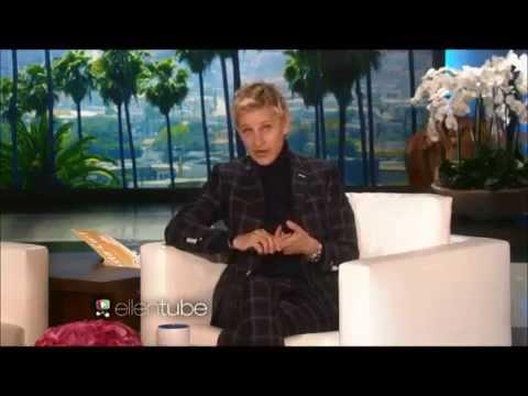 Ellen DeGeneres spoofs George Clooney's emotional Golden Globes speech to wife Amal Clooney