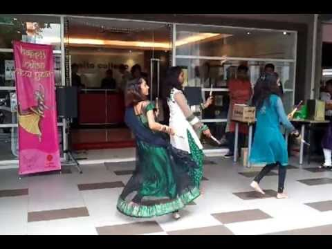 2013.04.11 SAITO COLLEGE - INDIAN NEW YEAR CELEBRATION - GIRL STICK DANCE