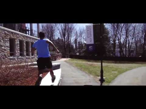 Parkour and Freerunning with Champlain College 2013