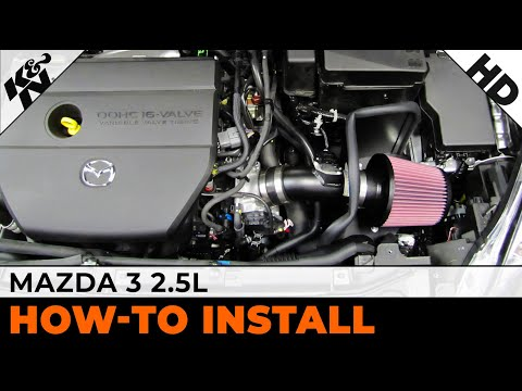 2010. 2011 & 2012 Mazda 3 2.5L Air Intake Installation Video 69-6013