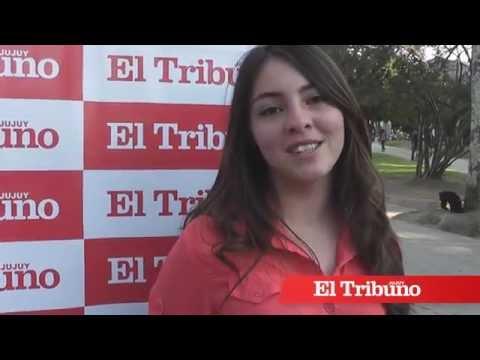 Candidatas a Reina del Colegio Santa Teresita