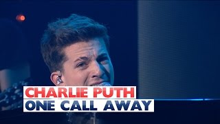 Charlie Puth One Call Away Live At Jingle Bell Ball 2015