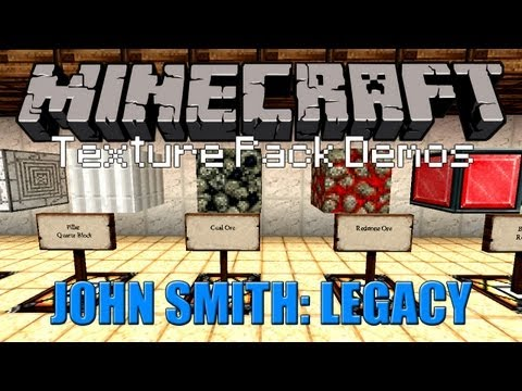 Texture Pack In Minecraft 1.5.2 + John Smith Texture Pack Download