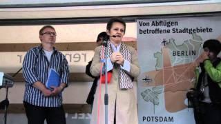 6.Montagsdemo gegen die geplanten Flugrouten über dem Müggelsee  08.08.2011