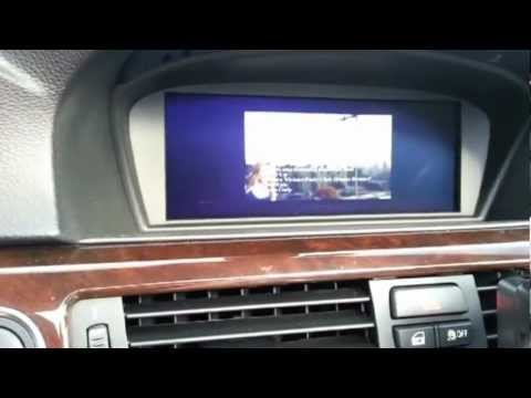 New 2012 BMW 328i Conv- new Nav with iPhone cradle Demo - UNLOCK YOUR DVD and iPhone Video