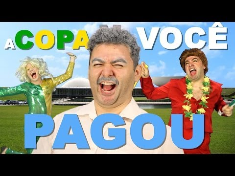 A COPA VOCÊ PAGOU | Paródia We Are One – Tema da Copa 2014