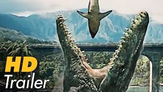 JURASSIC WORLD German Deutsch Trailer [2015] | Chris Pratt