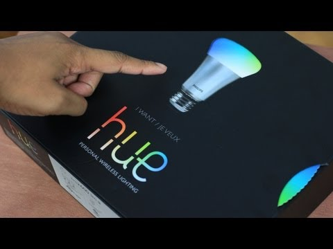 Unboxing: Philips Hue Wi-Fi LED Lighting System