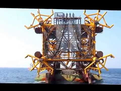 Offshore platform Jacket launching