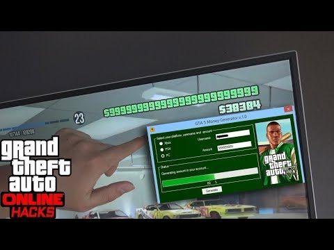 GTA 5 online generador de dinero para PC, PS4, XBOX ONE - DINERO INFINITO!!