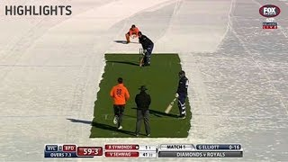 Ice Cricket: Afridi Royals vs Sehwag Diamonds Highlights, Afridi Royals beat Sehwag Diamonds by 6 wi