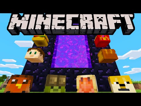 Minecraft 1.8.4 Update: Exploit Fixes. Safer Portals. Server Crash. Player Heads. Item Dupe Glitch