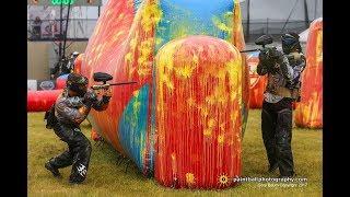 Intense Paintball Match