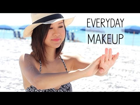 Everyday Makeup Routine ☼ Beach Edition! | xteeener