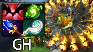 GH EPIC Combo Refresher + aghanim's EUL SS Shadow Fiend Dota 2
