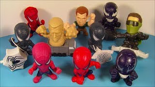 2006 SPIDER-MAN 3 SET OF 10 BURGER KING KID'S MEAL MOVIE TOY'S VIDEO REVIEW