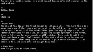 Student Let's Play: Zork