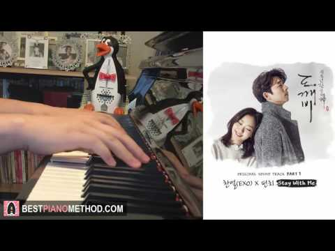 Goblin 도깨비 OST - Stay With Me - CHANYEOL (찬열)  PUNCH (펀치) (Piano Cover by Amosdoll)