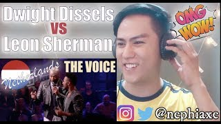 The Voice of Holland | Dwight Dissels vs  Leon Sherman – How Come How Long | REACTION