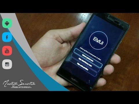 طريقة فورمات اجهزة هواوي من الركفري Huawei Format . تك هواوي