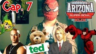 Cap.7 SuperBowl, Serie Teen Titans, Zelda y Daredevil y mas